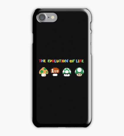 The Evolution of Life iPhone Case/Skin