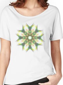 Fractal Mandala Women's Relaxed Fit T-Shirt