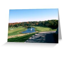 Copper Creek Golf Course Greeting Card