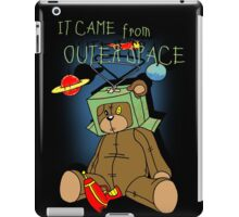 It Came from Outer Space - in technicolor iPad Case/Skin