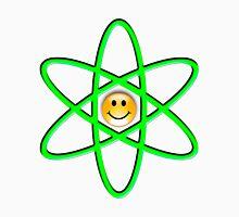 Smiley Atom Mens V-Neck T-Shirt