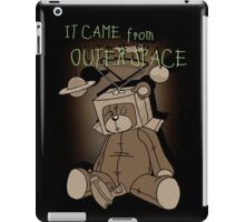 It Came from Outer Space - in sepiatone iPad Case/Skin