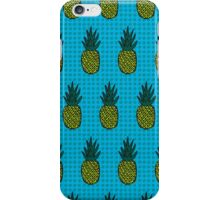 Tropical pineapple pattern iPhone Case/Skin