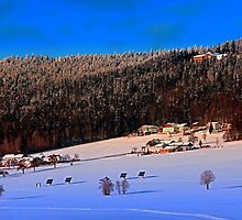 Bohemian forest winter wonderland | landscape photography by Patrick Jobst