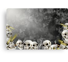 Abyss Of Death Canvas Print