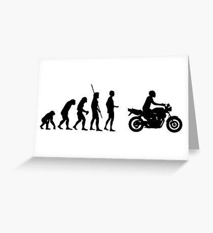 Evolution motorcycle Naked Bike Greeting Card