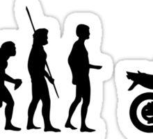 Evolution motorcycle Naked Bike Sticker