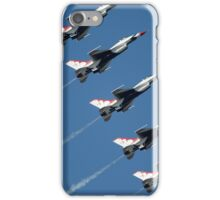 Thunderbirds - F-16 Fighting Falcaon - US Air Force Display Team - USAF - Great Aviation Photo iPhone Case/Skin