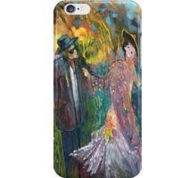 Lovers In The Wood iPhone Case/Skin