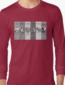 The Team - Twitch Plays Pokemon Long Sleeve T-Shirt