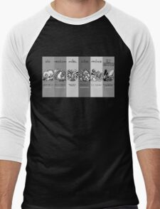The Team - Twitch Plays Pokemon Men's Baseball ¾ T-Shirt
