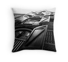 Stacked Shutters Throw Pillow