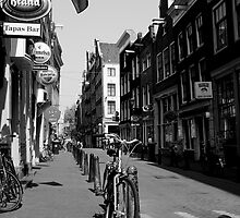 Of  Bicycles and Cobblestones by Arie Intveld