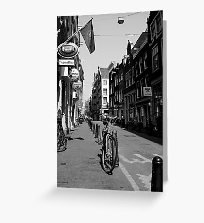 Of  Bicycles and Cobblestones Greeting Card