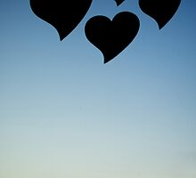 Love hearts shapes photograph romantic valentines day design by edwardolive