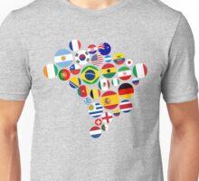 Brasil Nations Unisex T-Shirt