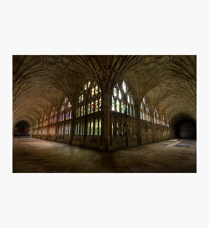 Gloucester Cathedral cloisters Photographic Print