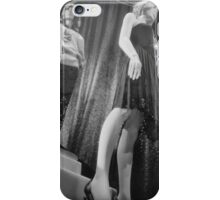 Shop dummy female mannequins black and white 35mm analog film photo iPhone Case/Skin