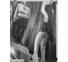 Shop dummy female mannequins black and white 35mm analog film photo iPad Case/Skin