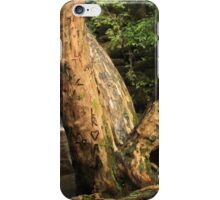 Carved Love Tree iPhone Case/Skin