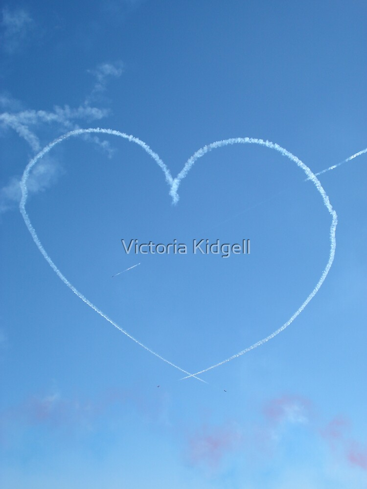 Love is in the air... by Victoria Kidgell