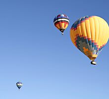 Hot Air Balloon Ride - A Special Adventure  by Christine Till  @    CT-Graphics