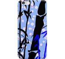 Blue Love Bamboo iPhone Case/Skin