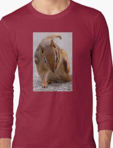 Ninja Chipmunk Long Sleeve T-Shirt