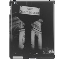 Place Charles de Gaulle Arc de Triomphe Paris Champs Elysees Lomo LCA lomographic analog film photograph 35mm iPad Case/Skin