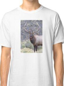 Bull Elk Bugling Classic T-Shirt