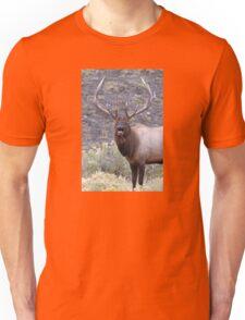 Bull Elk Bugling Unisex T-Shirt