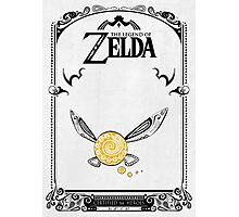 Zelda legend - Fairy Navi doodle Photographic Print