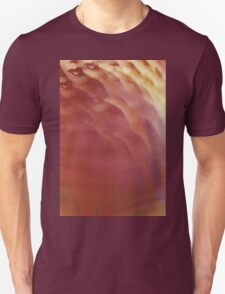 Sensual red lips surrealist analog film print photograph Unisex T-Shirt