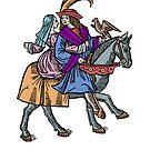 Medieval Hawk Hunters by Zehda