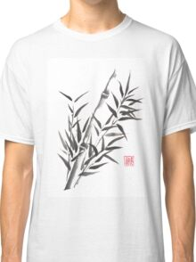 No doubt bamboo sumi-e painting Classic T-Shirt