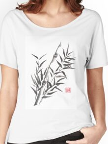No doubt bamboo sumi-e painting Women's Relaxed Fit T-Shirt