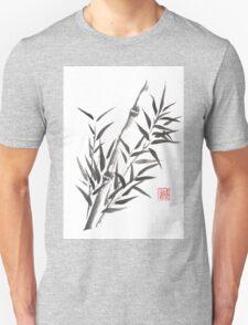No doubt bamboo sumi-e painting T-Shirt