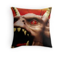 The Look In Its Eyes Throw Pillow