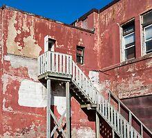 Old Red Plaster by dbvirago