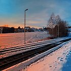 The end of the railroad   landscape photography by Patrick Jobst