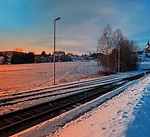 The end of the railroad | landscape photography by Patrick Jobst