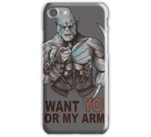I WANT YOU FOR MY ARMY iPhone Case/Skin
