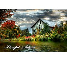 Peaceful Autumn Photographic Print