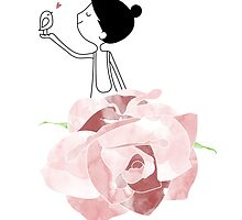 Stop and Smell the Roses by Holly Hatam