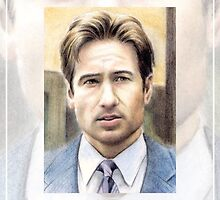 David Duchovny miniature by wu-wei