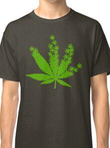 Cannabis from cannabis leaves  Classic T-Shirt