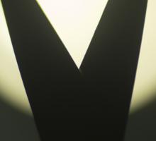 Scissors silhouette photo Sticker