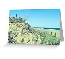 Atlantic Sand Dunes - Ocean City Greeting Card