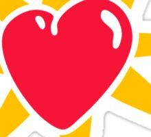 Shinning Heart Sticker