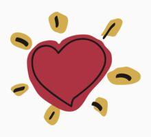 Shinning Heart Kids Tee